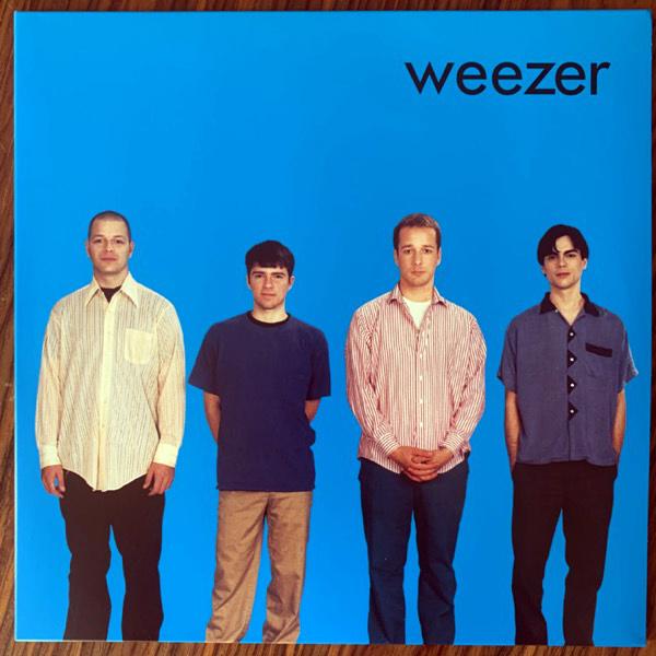 WEEZER Weezer (Back To Black - UK 2012 reissue) (NM/EX) LP