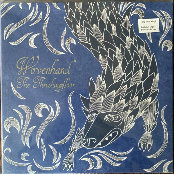 WOVENHAND The Threshingfloor (Blue vinyl) (Burnt Toast - USA original) (EX/NM) LP