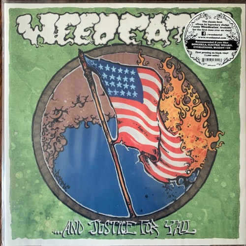 WEEDEATER And Justice For Y'All (Season of Mist - France reissue) (NM) LP