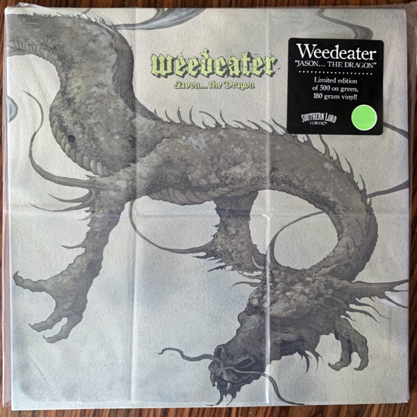 WEEDEATER Jason... The Dragon (Green vinyl) (Southern Lord - USA original) (EX/NM) LP