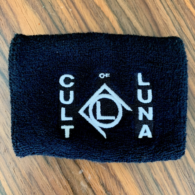 CULT OF LUNA Logo (USED) SWEATBAND