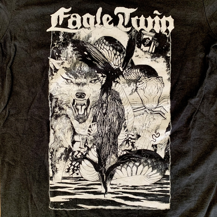 EAGLE TWIN Eagle Twin (S) (USED) T-SHIRT
