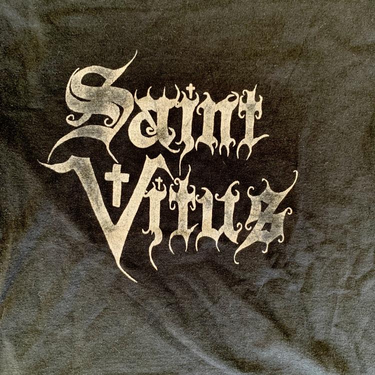 SAINT VITUS Logo (XS) (USED) T-SHIRT