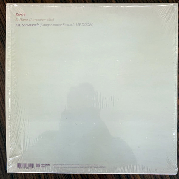 ZERO 7 / MF DOOM Home / Somersault (New State Music - Europe original) (NM/EX) 10""