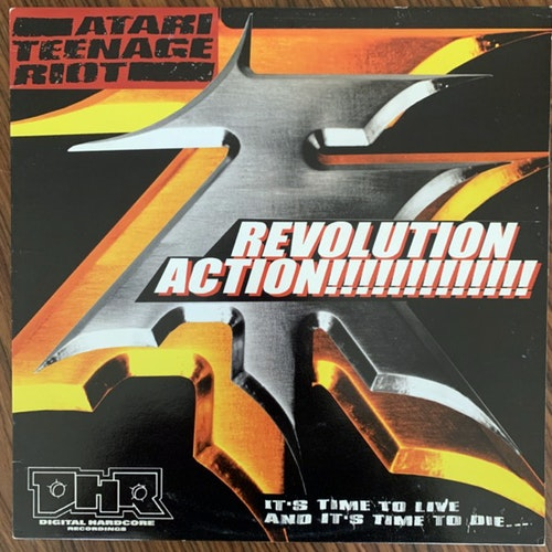 "ATARI TEENAGE RIOT Revolution Action E.P. (Digital Hardcore - UK original) (VG+) 12"" EP"
