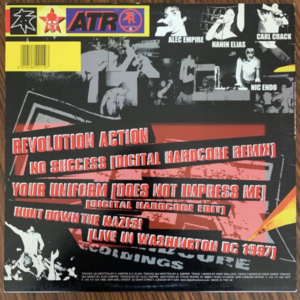 "ATARI TEENAGE RIOT Revolution Action E.P. (Digital Hardcore - UK original) (VG+) 12"" EP"