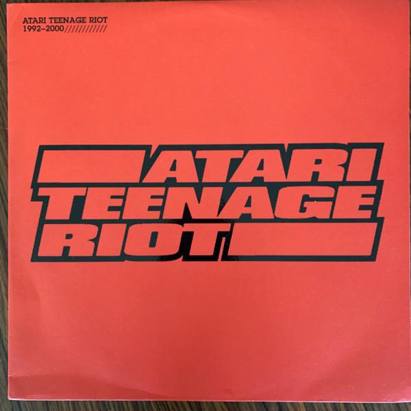 ATARI TEENAGE RIOT 1992-2000 (Digital Hardcore - UK original) (EX) 2LP