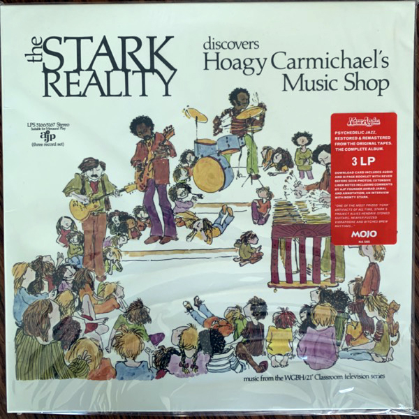 STARK REALITY, the Discovers Hoagy Carmichael's Music Shop (Now-Again - USA reissue) (NM/EX) 3LP