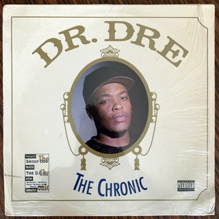 DR. DRE The Chronic (Interscope - USA original) (VG+/VG) LP
