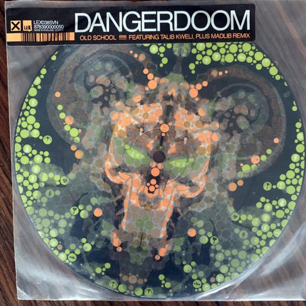 """DANGERDOOM Old School (Lex - UK original) (VG+/EX) PIC 7"""""""