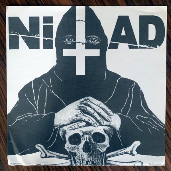 """NITAD Världen Måste Dö (Red vinyl) (Deranged - Canada original) (VG+/EX) 7"""""""