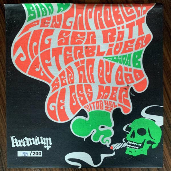 "NITAD Ge Oss Mer (Green vinyl) (Kranium - Sweden original) (VG+/EX) 7"""