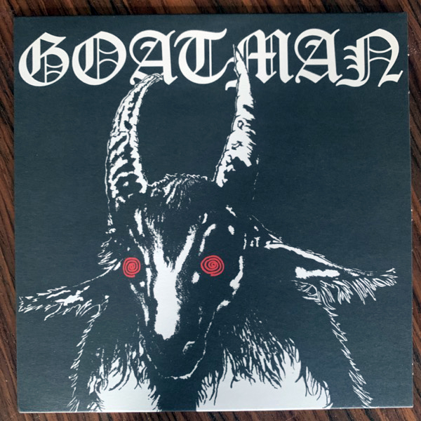 "GOAT Goatman (Rocket - UK original) (NM/EX) 7"""