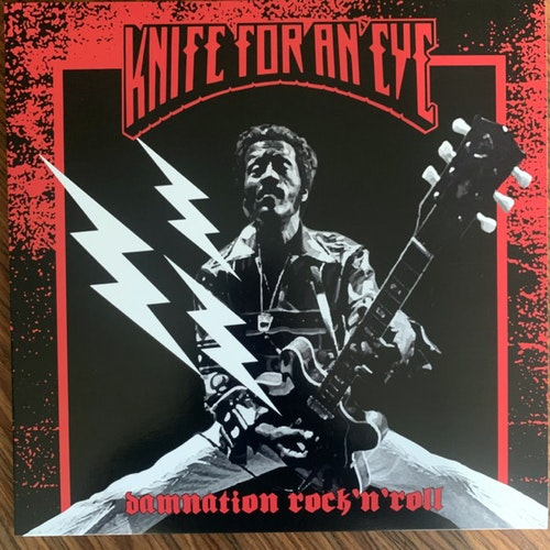 KNIFE FOR AN EYE Damnation Rock´n´Roll (Tvåtakt - Sweden original) (NM) LP