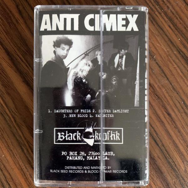 ANTI CIMEX The Lost Mixes (Black Konflik - Malaysia original) (EX) TAPE