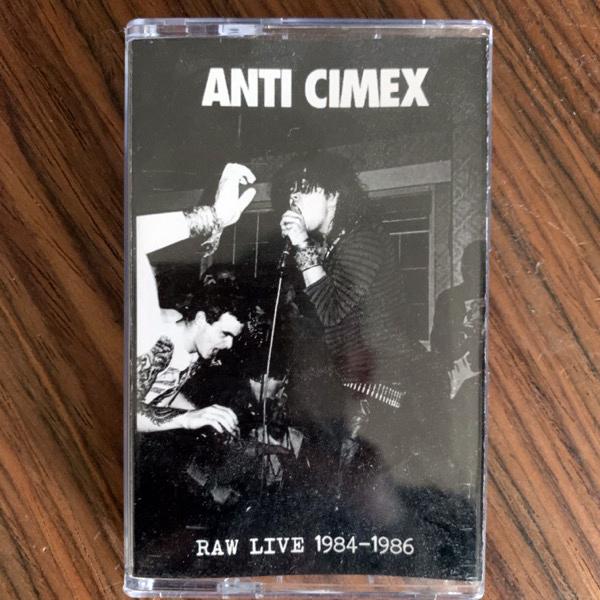 ANTI CIMEX Raw Live 84-86 (Black Konflik - Malaysia original) (NM) TAPE