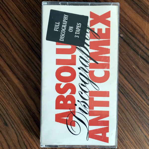 ANTI CIMEX Discography (No Bread! - Russia original) (EX) 3xTAPES