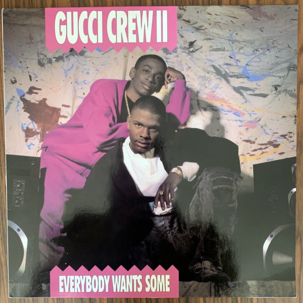 GUCCI CREW II Everybody Wants Some (BCM - Germany original) (EX) LP