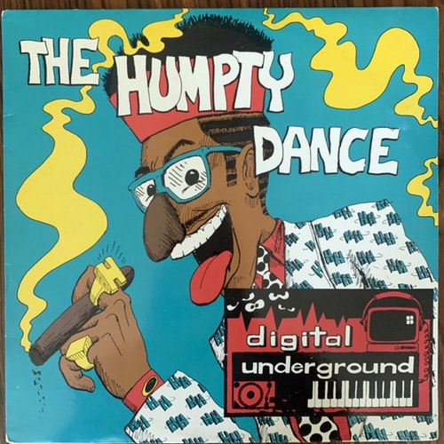 DIGITAL UNDERGROUND The Humpty Dance (Tommy Boy - USA original) (VG+/VG) 12""