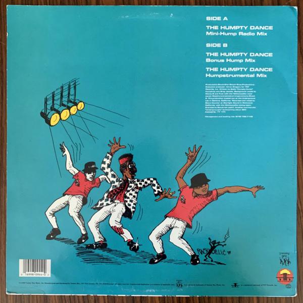 "DIGITAL UNDERGROUND The Humpty Dance (Tommy Boy - USA original) (VG+/VG) 12"""