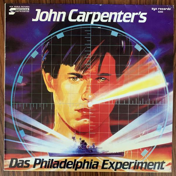 """SOUNDTRACK The Splash Band / John Carpenter - Das Philadelphia Experiment (ZYX - Germany original) (VG+/EX) 12"""""""