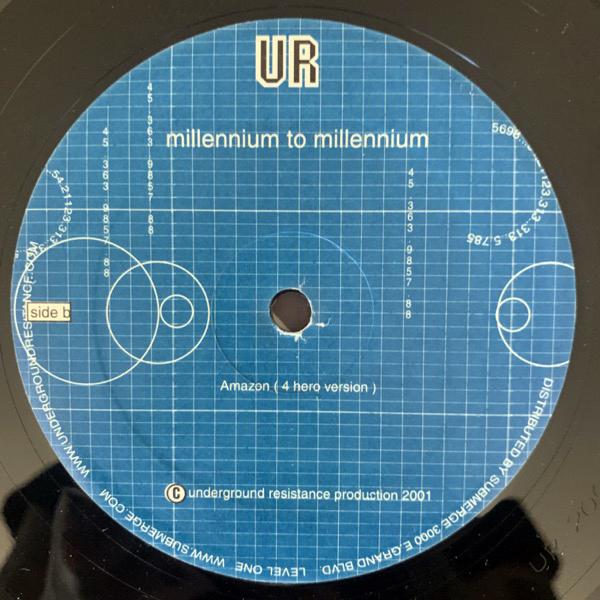 """UNDERGROUND RESISTANCE Millennium To Millennium (Underground Resistance - USA original) (EX/VG+) 12"""""""