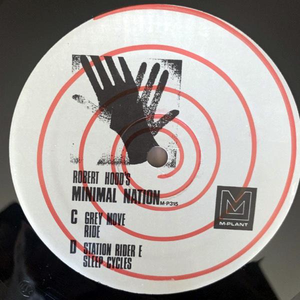 "ROBERT HOOD Minimal Nation (M-Plant - USA original) (VG+) 2x12"""