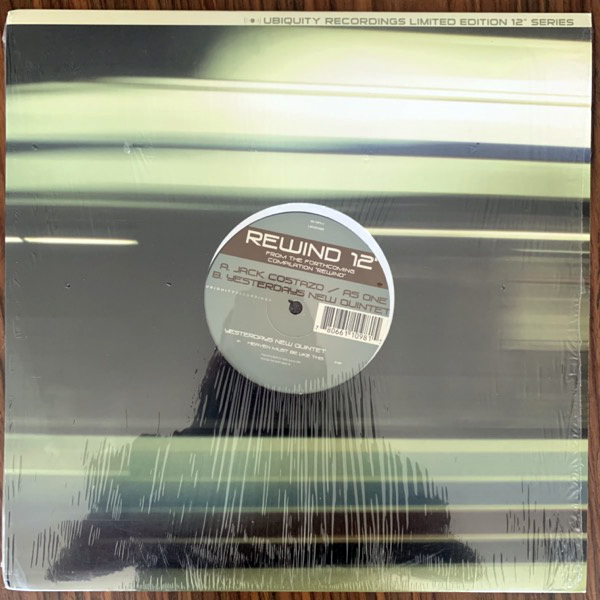 "YESTERDAYS NEW QUINTET / JACK COSTAZO / AS ONE Rewind (Ubiquity - USA original) (EX) 12"""