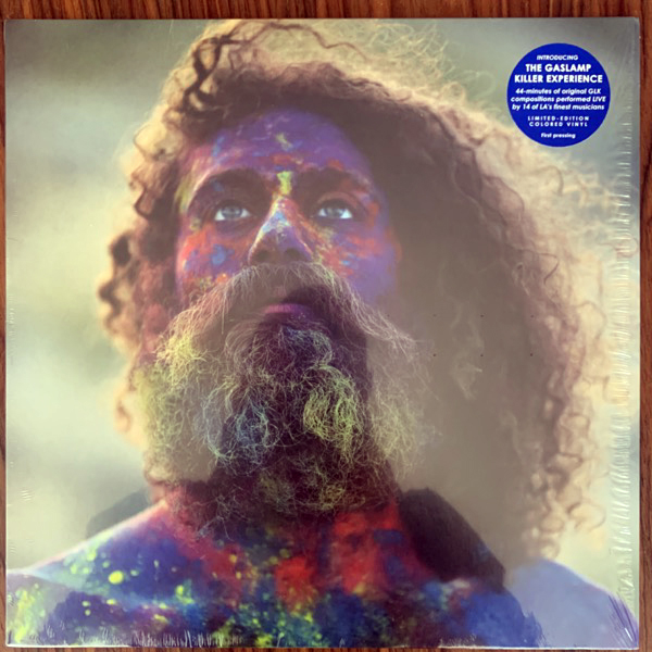 GASLAMP KILLER, the The Gaslamp Killer Experience: Live In Los Angeles (Blue vinyl) (Self released - USA original) (NM/EX) LP