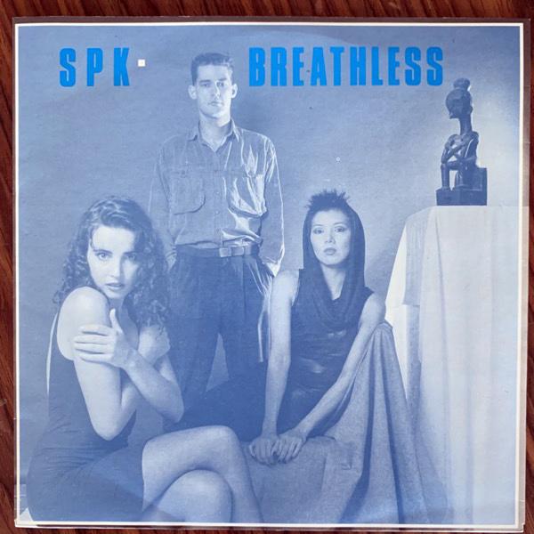 "SPK Breathless (Regular - Australia original) (EX) 7"""