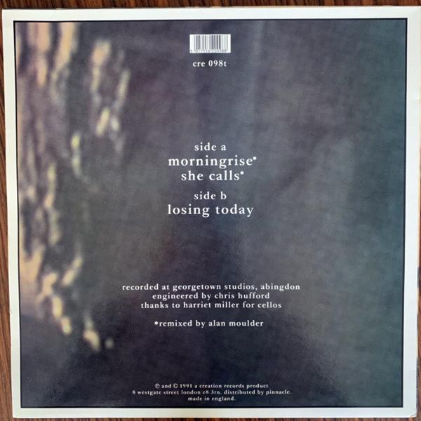 """SLOWDIVE Morningrise (Creation - UK original) (VG+) 12"""""""