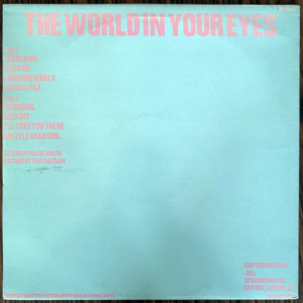 LOOP The World In Your Eyes (Head - UK original) (VG+) LP