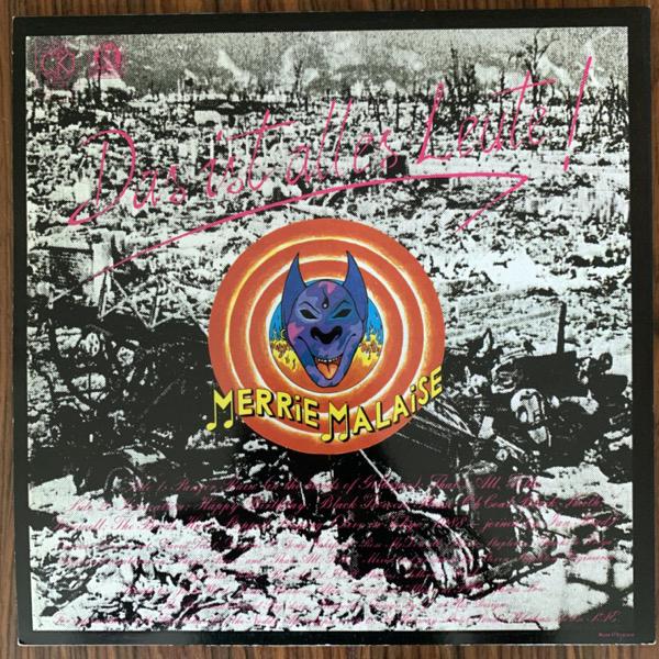 CURRENT 93 Looney Runes (Durtro - UK original) (EX) LP