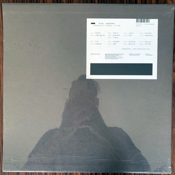 AUTECHRE Exai (Warp - UK original) (SS) 4LP BOX