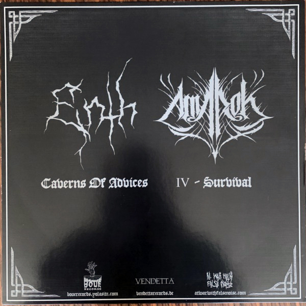 ENTH / AMAROK Split (At War With False Noise - Europe original) (EX/NM) LP