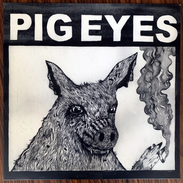 PIG EYES Total Destruction Of The Present Moment (De:Nihil - Sweden original) (EX/NM) LP