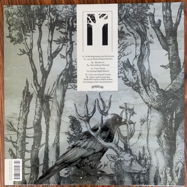 EAGLE TWIN The Unkindness Of Crows (Southern Lord - USA original) (EX) 2LP