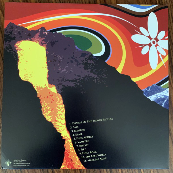TORCHE Torche (Blue/smoke vinyl) (Robotic Empire - USA 2007 reissue) (VG+/EX) LP