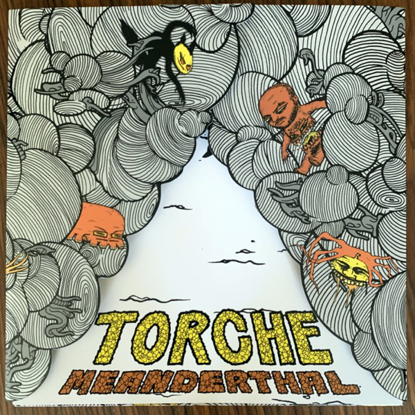 TORCHE Meanderthal (White vinyl) (Robotic Empire - USA original) (NM) LP