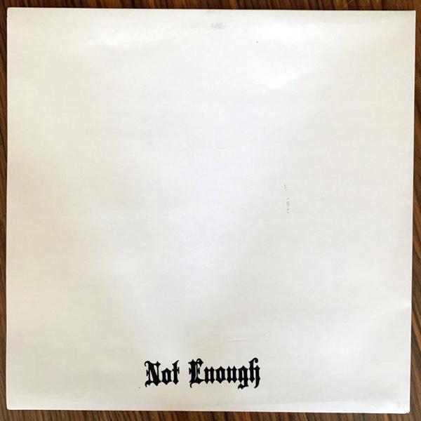 HERÄTYS Herätys (Totalitär sleeve) (Not Enough - Sweden original) (EX) LP