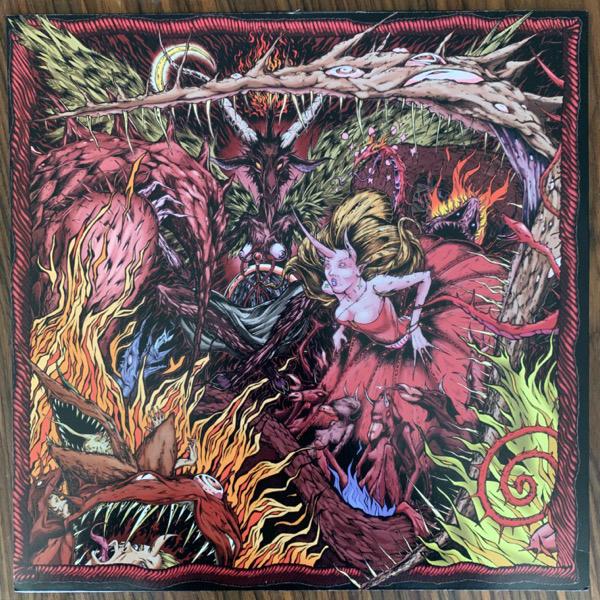 BONGRIPPER Satan Worshipping Doom (Self released - USA original) (VG+/EX) 2LP