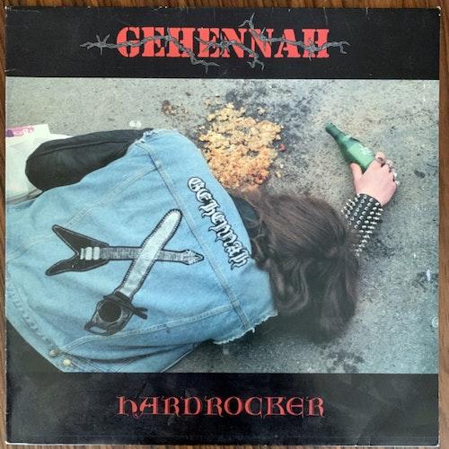 GEHENNAH Hardrocker (Primitive Art - Sweden original) (VG/VG+) LP