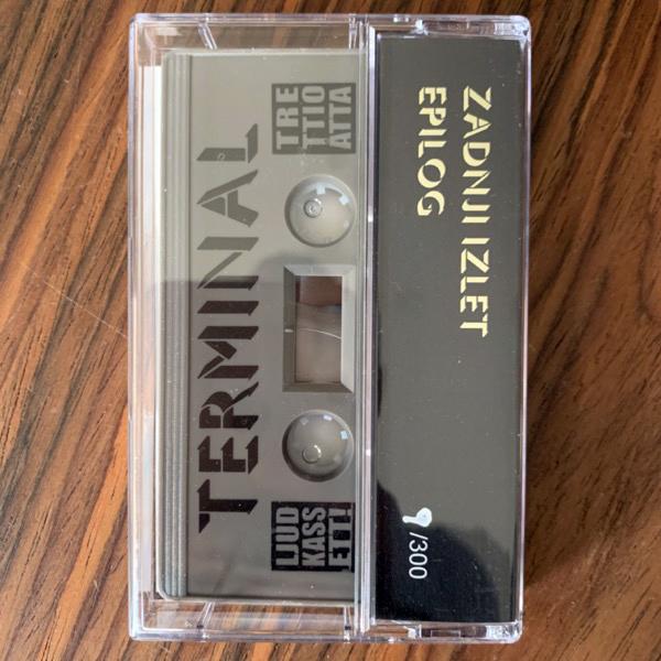 TERMINAL Zadnji Izlet / Epilog (Ljudkassett - Sweden original) (NM) TAPE