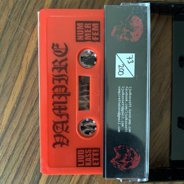 VAMPIRE Vampire (Red cassette) (Ljudkassett - Sweden original) (NM) TAPE