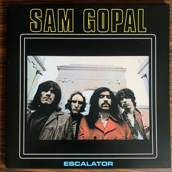 "SAM GOPAL Escalator (Morgan Blue Town - UK 2017 reissue) (EX) LP+7"""