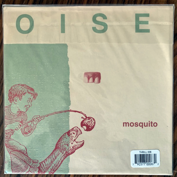 "TORTOISE Lonesome Sound / Mosquito (Thrill Jockey - USA reissue) (EX/NM) 2x7"""
