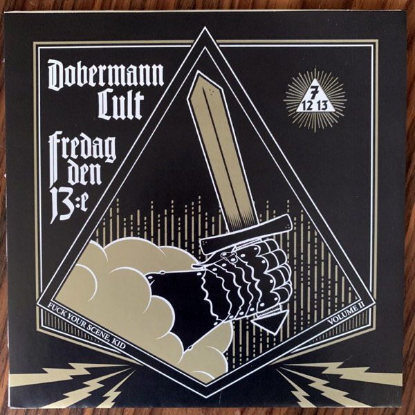 "FREDAG DEN 13:E / DOBERMANN CULT Fuck Your Scene Kid Vol. II (Red vinyl) (Kranium - Sweden original) (EX) 7"""