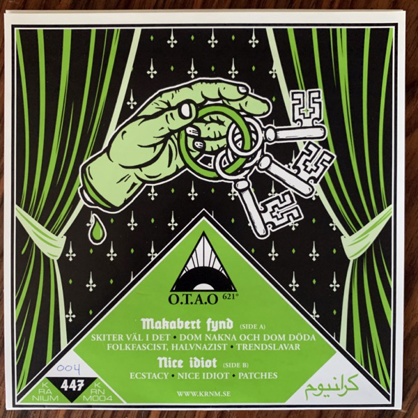 """MAKABERT FYND / NICE IDIOT Fuck Your Scene, Kid Vol. I (Purple vinyl) (Kranium - Sweden original) (EX) 7"""""""