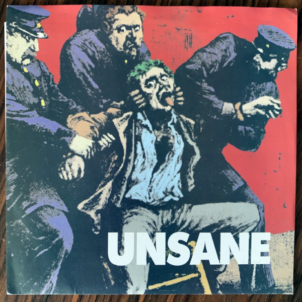 """UNSANE Committed / Over Me (Galaxia - USA original) (EX/VG+) 7"""""""