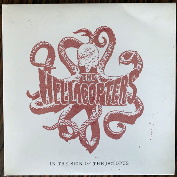 """HELLACOPTERS, the In The Sign Of The Octopus (Psychout - Sweden original) (EX) 7"""""""